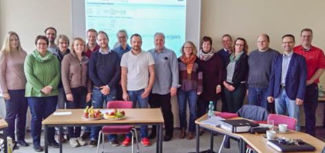 Teilnehmer SAP-Schulung BBS1 Goslar