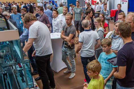 Projektmesse der Fachschulen Technik