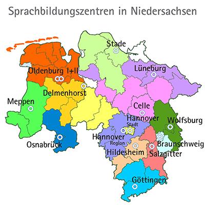 Sprachbildungszentren der Niedersächsischen Landesschulbehörde