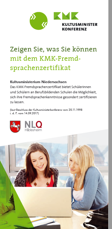 nieders228chsischer bildungsserver kmkfremdsprachenzertifikat