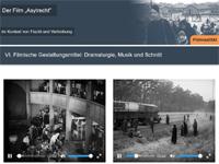 Interaktive Filmbildungspakete zur historisch-politischen Bildung