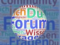 Veranstaltungen: Foren, Fachtagungen, Netzwerktreffen
