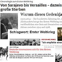 Das Thema in deutschen Zeitungen und Zeitschriften