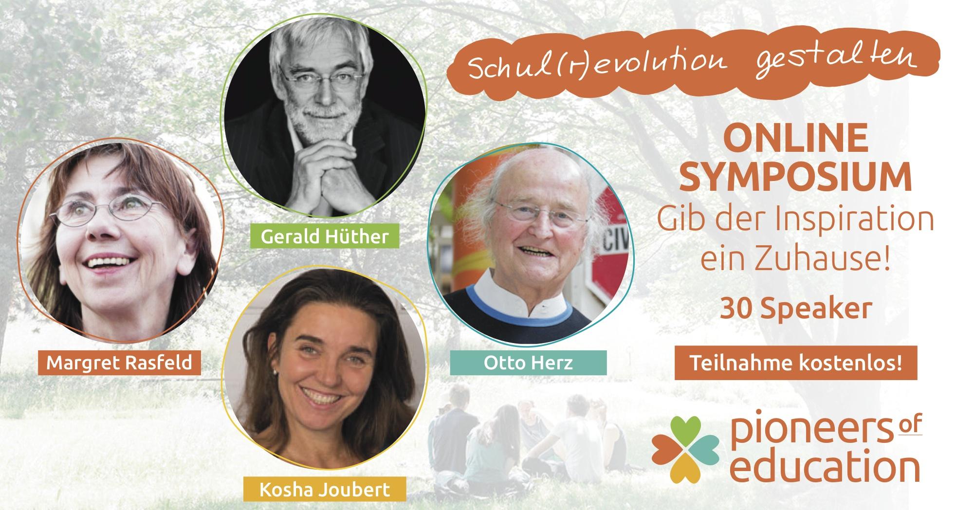 """Hinweis auf Online-Symposion vom 22.3. - 30.3.2019 """"Pioneers of education"""""""