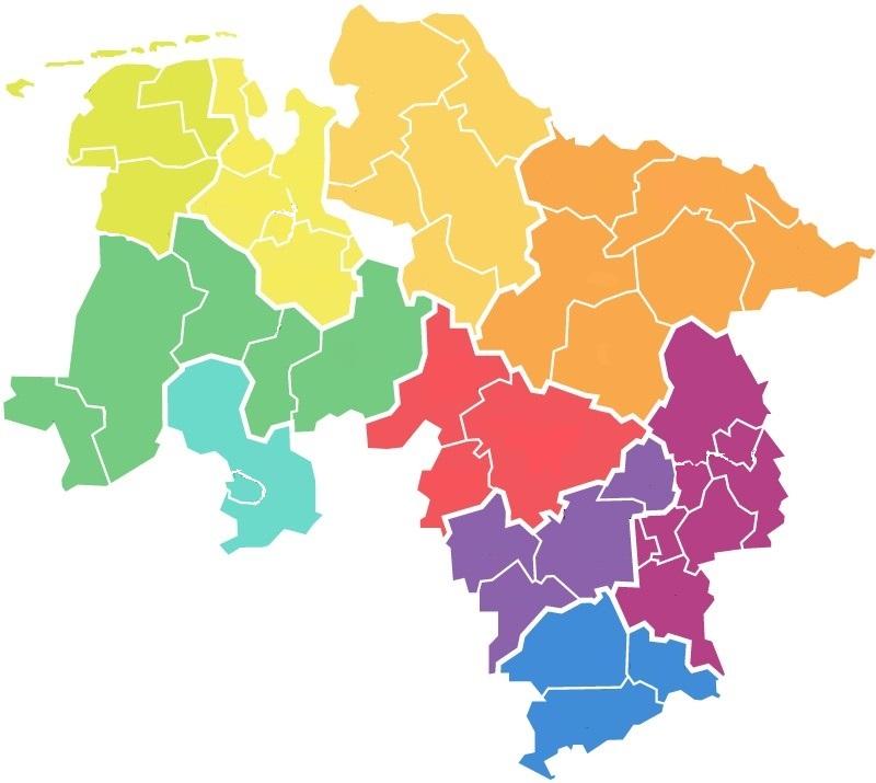 Niedersachsen Karte Pdf.Niedersächsischer Bildungsserver Kompetenzzentren