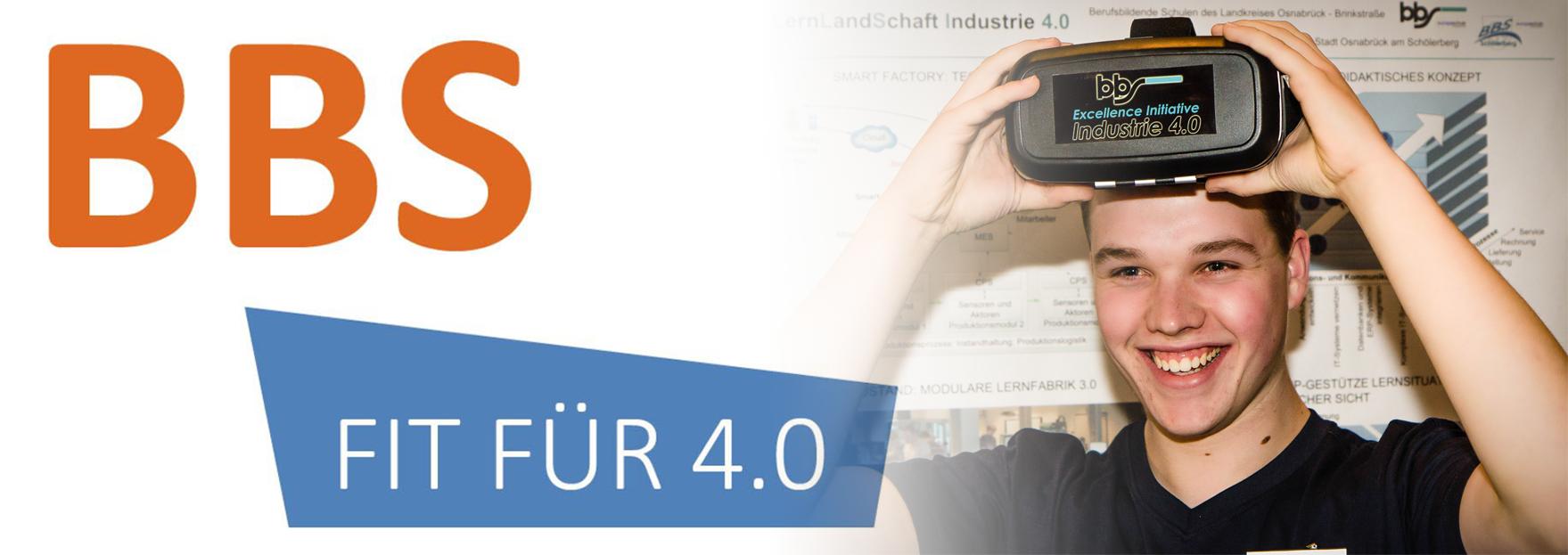 Schüler mit Datenbrille (VR), bbs-Initiative Industrie 4.0