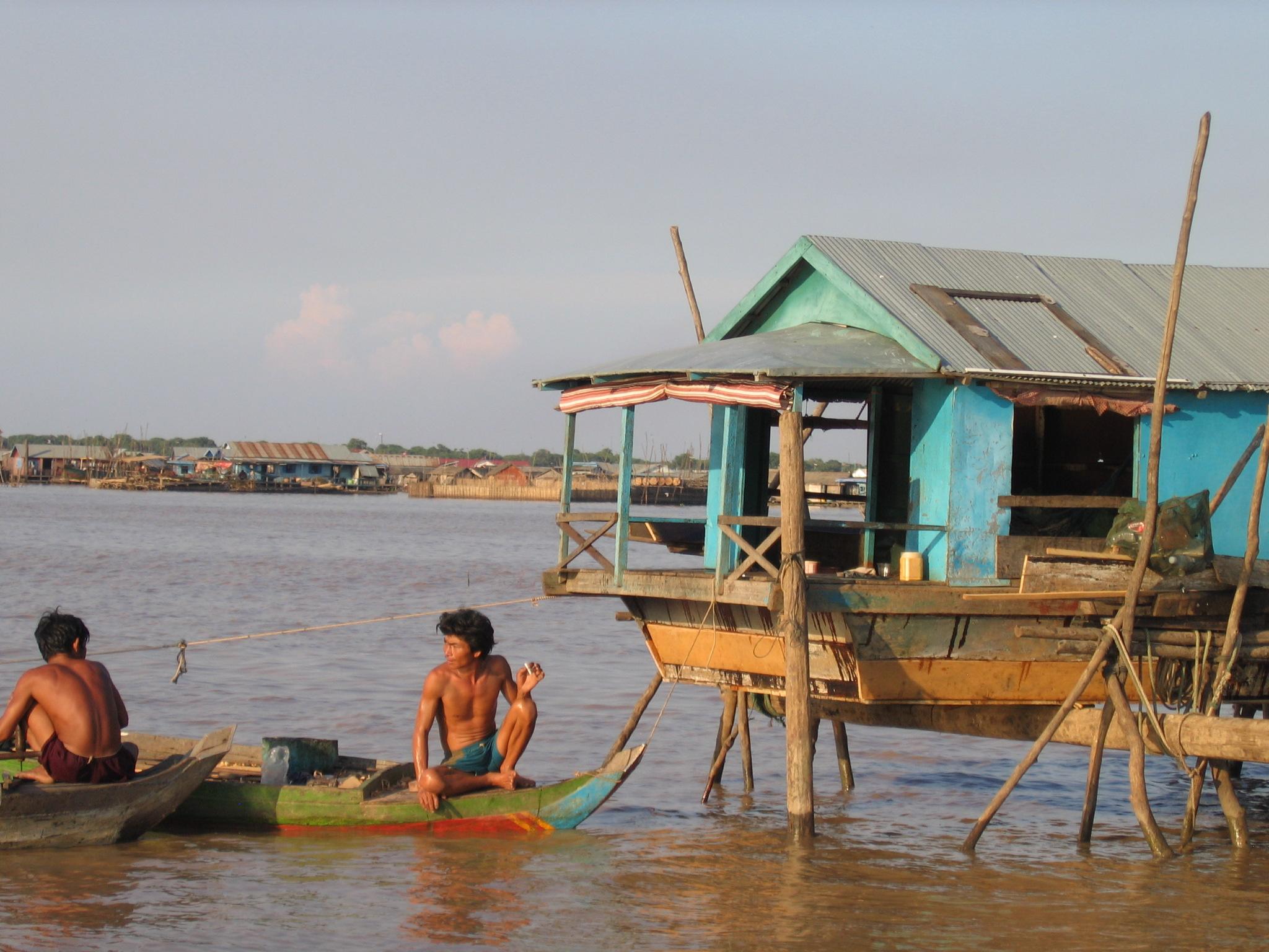 Kambodscha, Tonle Sap - Schwimmende Dörfer