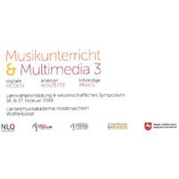 Fortbildungskongress/Symposium Musikunterricht und Multimedia - 16./17.02.2018 in Wolfenbüttel